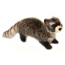 Hansa Mini Raccoon Plush Soft Toy