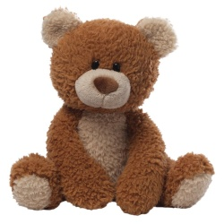 Gund Raisin Dark Brown Teddy Bear