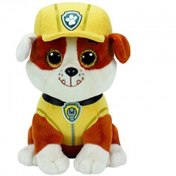 TY Paw Patrol Rubble Soft Toy
