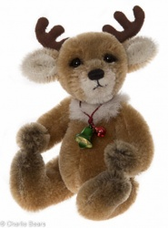 Charlie Bears Mohair Keyring Rudi 11cm Limited Edition 2015 Teddy Bear