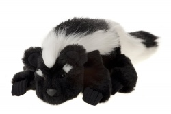 Charlie Bears Playtime Collection Cuddly Soft Pongo Skunk Puppet