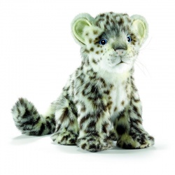 Hansa Snow Leopard 18cm Plush Soft Toy