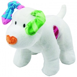 The Snowdog Bean Soft Toy