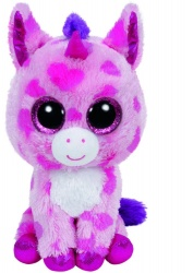 TY Beanie Boo Sugar Pie Pink Unicorn
