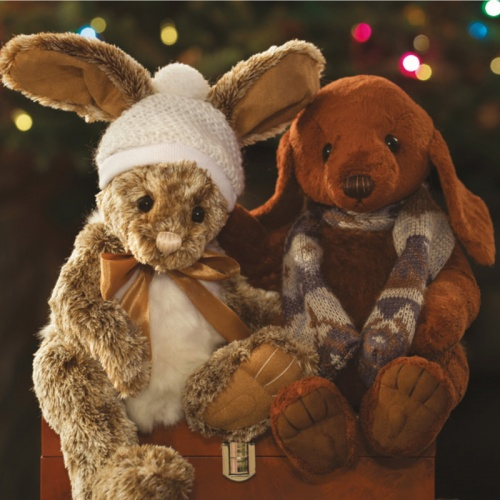 Charlie Bears Winter Wonderland Olwen Bunny