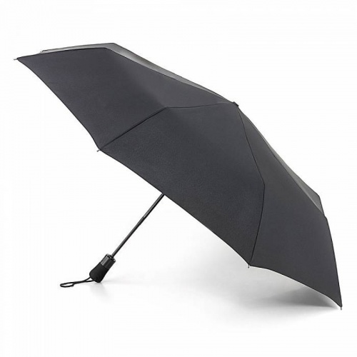 Open & Close Jumbo Black Umbrella