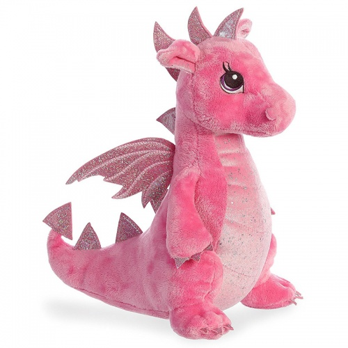 Sparkle Tales Dahlia Dragon Soft Toy