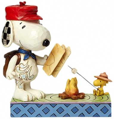 Peanuts Campfire Friends Figurine By Jim Shore