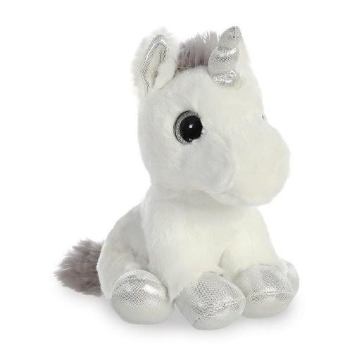 Sparkle Tales Sparkle Unicorn Silver Soft Toy