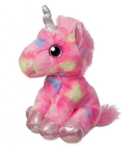 Sparkle Tales Rainbow Unicorn Pink Soft Toy