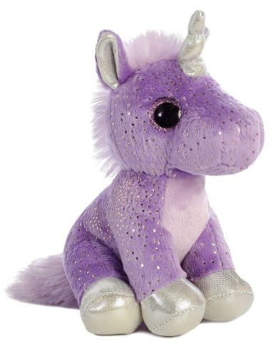 Sparkle Tales Sprinkles Purple Unicorn Soft Toy