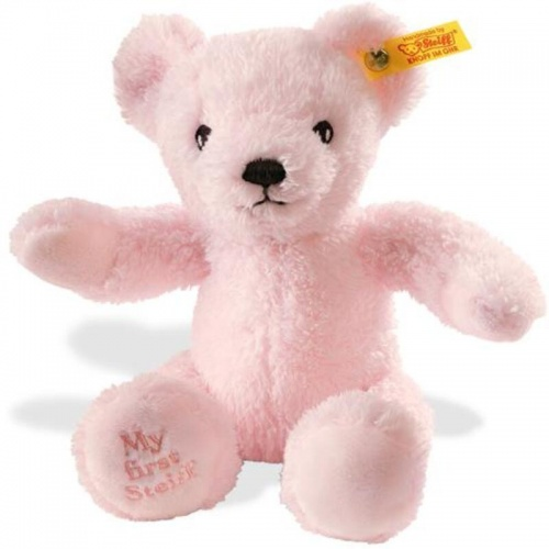 Steiff My First Teddy Pink Gift Boxed