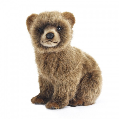Hansa Bear cub brown 24cm Plush Soft Toy
