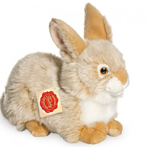 Teddy Hermann Beige Rabbit Plush Soft Toy Animal