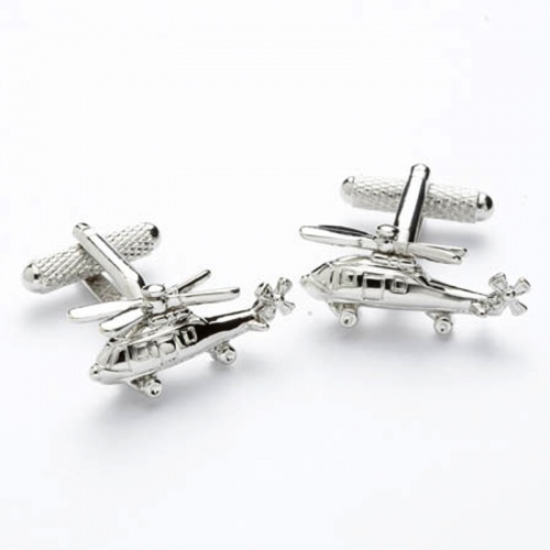 Helicopter Novelty Cufflinks