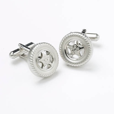 Wheel Novelty Cufflinks
