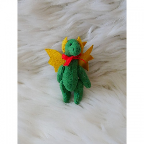 Deb Canham Dolls House Dennis Soft Toy Dragon