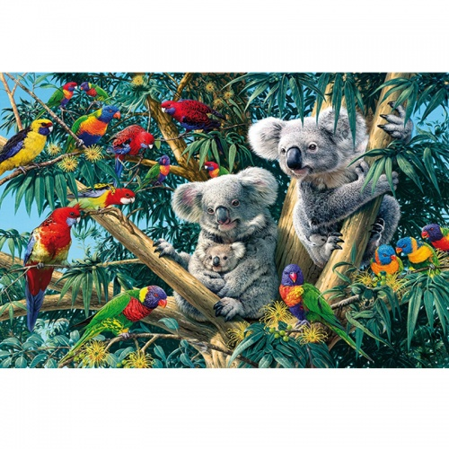 Wentworth Koala Outback 250 Piece Laser Cut Wooden Jigsaw Puzzle
