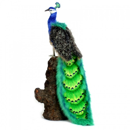 Hansa Peacock Bird Soft Toy Animal