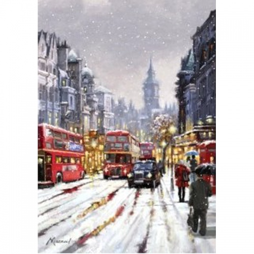 Wentworth Whitehall in Snow 250 Piece Laser Cut Wooden Jigsaw Puzzle