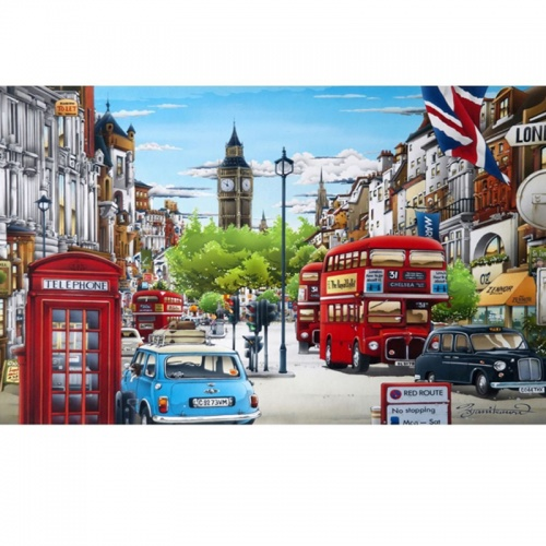 Wentworth Whitehall  250 Piece Laser Cut Wooden Jigsaw Puzzle