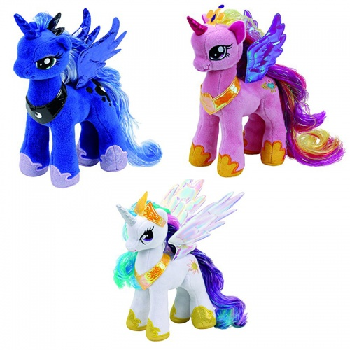 TY Set of 3 My Little Pony Princesses