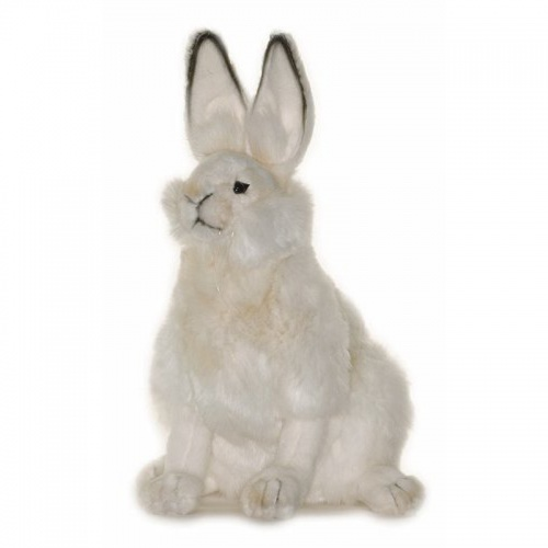 Hansa Hare White 27cm Plush Soft Toy