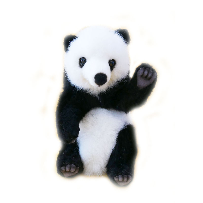 Hansa Mini Panda Plush Soft Toy Dragon Toys Teddy Bears