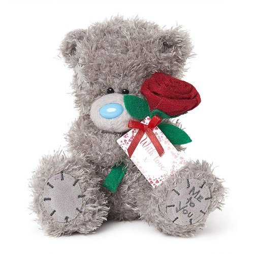 Me to You Tatty Teddy Bear with Rose
