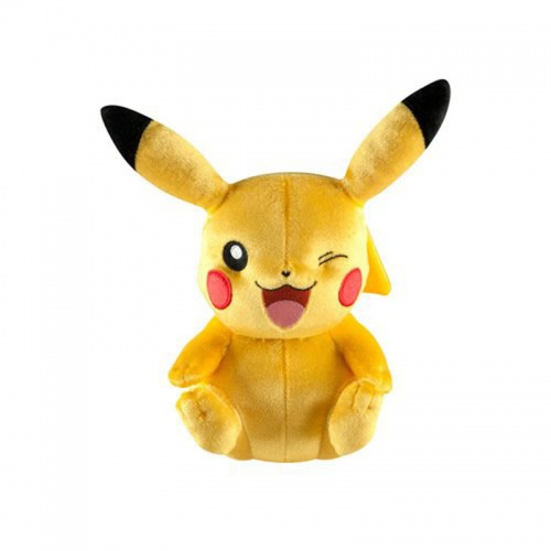 Pokemon 20th Anniversary Winking Pikachu Soft Toy