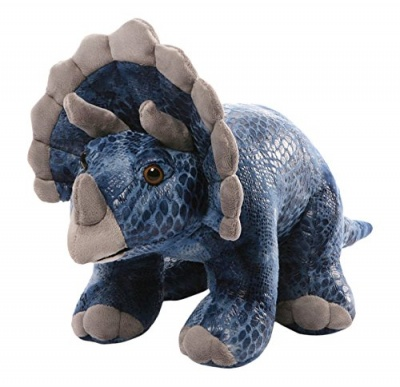 Gund Diesyl Triceratops Small Plush Soft Toy Dinosaur