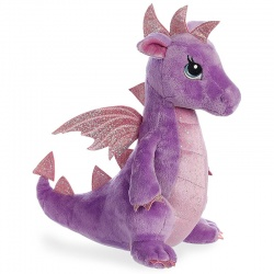 Sparkle Tales Larkspur Dragon Soft Toy