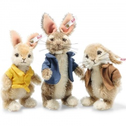 Steiff Peter Rabbit Mohair Gift Set