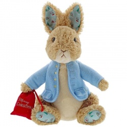 Peter Rabbit Christmas Large Soft Toy