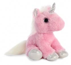 Sparkle Tales Blossom Unicorn Pink Soft Toy