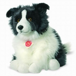 Teddy Hermann Border Collie Sheepdog Plush Soft Toy Dog