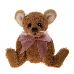 Charlie Bears Keyring - Cheesecloth Mouse Keyring