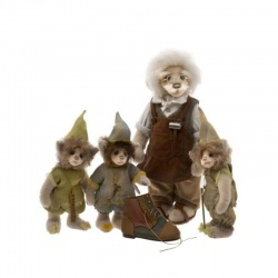 Charlie Bears Elves and the Shoemaker Ltd Ed