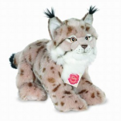 Teddy Hermann Lynx Plush Soft Toy Animal