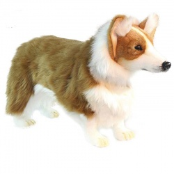 Hansa Welsh Corgi 50cm Plush Soft Toy