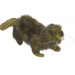 Hansa Mini Beaver Plush Soft Toy Animal