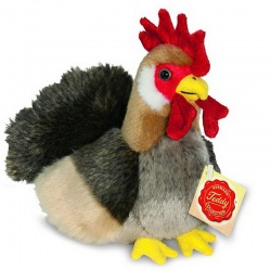 Teddy Hermann Cockerel Plush Soft Toy Animal