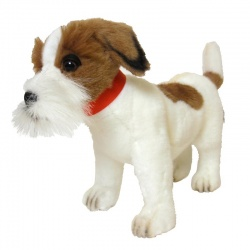 Hansa Jack Russell Plush Soft Toy Dog