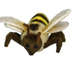 Hansa Honeybee Plush Soft Toy Insect
