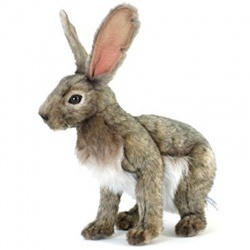 Hansa Jack Rabbit Plush Soft Toy Animal