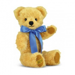 MerryThought London Curly Gold Teddy Bear