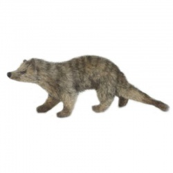 Hansa Mini Mongoose Plush Soft Toy