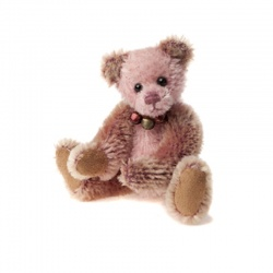 Charlie Bears Mohair Keyring Sandal Limited Edition 2013 Teddy Bear