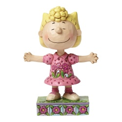 Peanuts Sassy Sally Figurine By Jim Shore