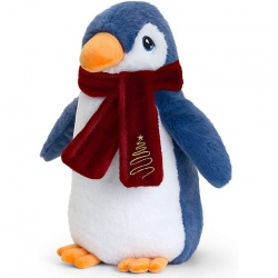Keel Toys Penguin Christmas Soft Toy